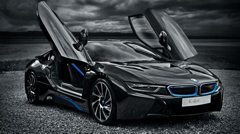 BMW i8 Electric Car 4K Wallpaper