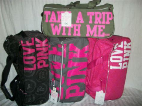 nwt victorias secret pink travel wheelie from shoppinkologie