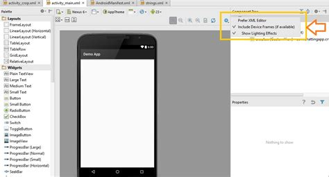 android studio frame layout how to add more frame like nexus 6p 5x etc in screensho