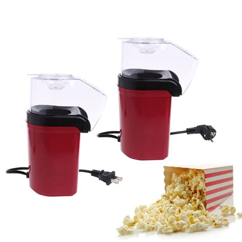 Homgeek 1200w Mini Household Healthy Air Free Popcorn Maker mini electric popcorn maker changing products