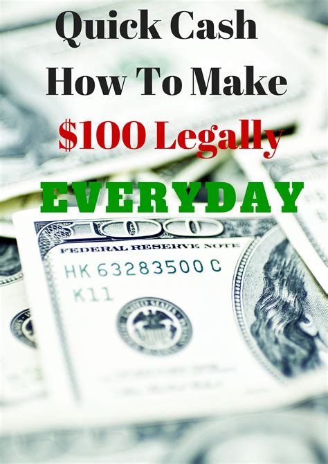 How To Make Fast Money Online Legally - ways to make quick money legally or ideas to make money for students