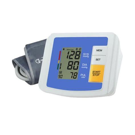 arm type digital protable home use blood pressure