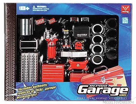 Model Car Garage Diorama Accessories by Repair Garage Series Garage Diorama Accessory