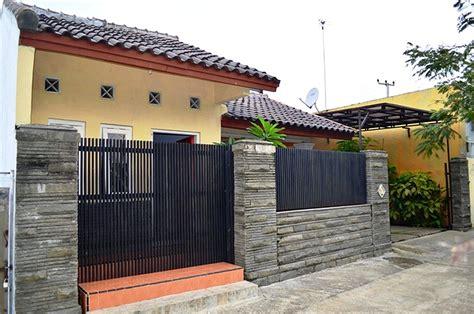 desain mushola batu alam 17 desain pagar besi minimalis dengan batu alam terbaru