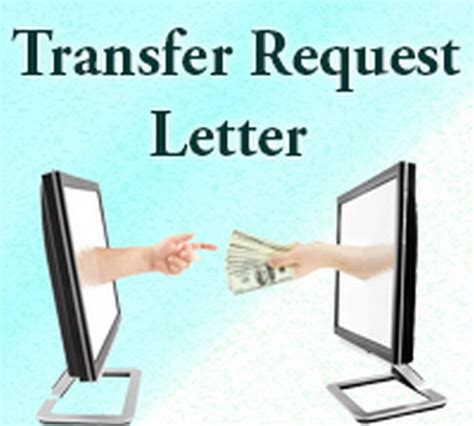 Transfer Request Letter Family Reasons Transfer Request Letter