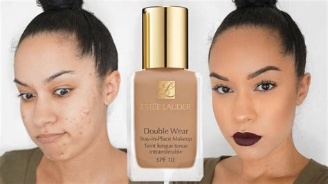 estee lauder wear foundation review demo