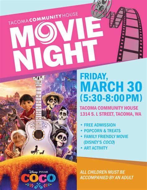 film coco in spanish march 30 free family movie night coco tacoma