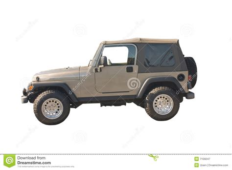 Rugged Suv by Rugged Suv Convertible Royalty Free Stock Photography