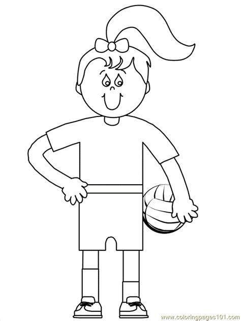 free printable volleyball coloring pages coloring pages volleyball2 sports gt volleyball free