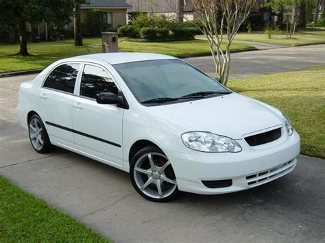Custom 2003 Toyota Corolla Austincrakinhill S 2003 Toyota Corolla In Houston Tx