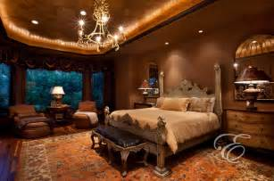Tuscan Bedroom Upscale Tuscan