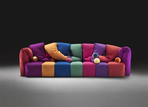 Colorful Sectional Sofas by How To Decorate With Italian Sofas