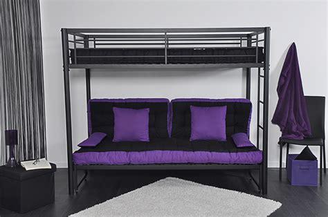 lit mezzanine 1 place avec clic clac lit superpose clic clac maison design wiblia