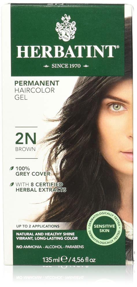 herbal hair color herbatint permanent herbal haircolour gel 3n