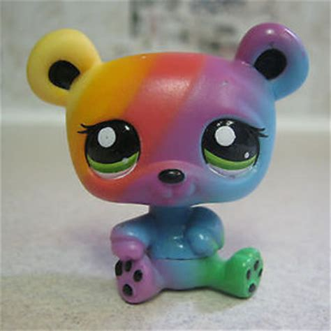 Mother Of Pearl Home Decor by Littlest Pet Shop Rainbow Green Eyes From Hope24 On Ebay