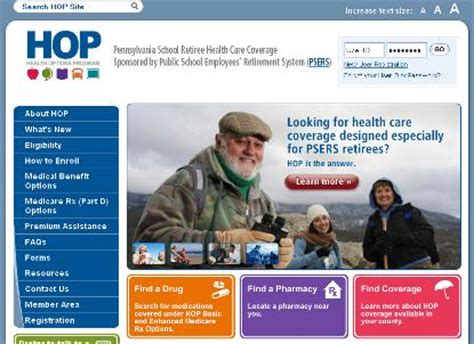 jp retirement login psers health options program member portal the matrix