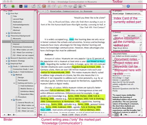 phd thesis writing software scrivener a program for dissertation writing