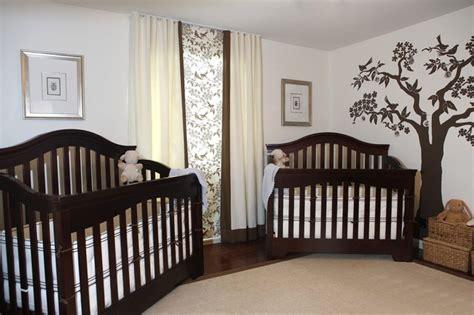 twin baby bedroom traditional nursery