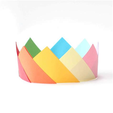 Folded Paper L - origami paper crown 28 images origami flower crown