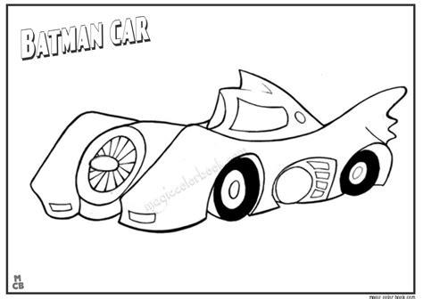 batman car coloring pages coloring pages ideas