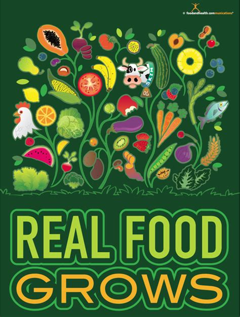 poster design nutrition month real food grows poster nutrition poster motivational
