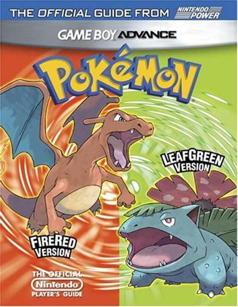 leaf version for what is a guide to biology books official nintendo pok 233 mon firered version pok 233 mon