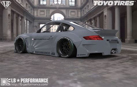 widebody porsche 997 porsche 911 997 gets liberty walk widebody kit autoevolution