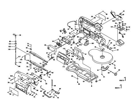 dremel parts diagram scroll saw diagram parts list for model 1680 dremel