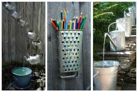 vecchi utensili da cucina 20 modi originali per riutilizzare i vecchi utensili da cucina