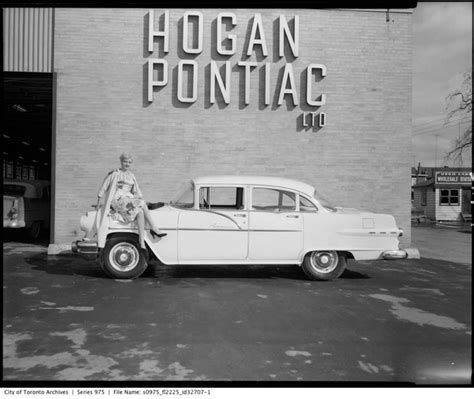 pontiac car dealerships what car dealerships used to look like in toronto