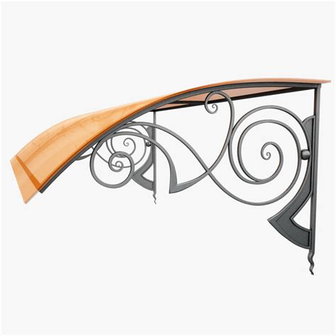Wrought Iron Awning by Wrought Iron Awning 3d Max