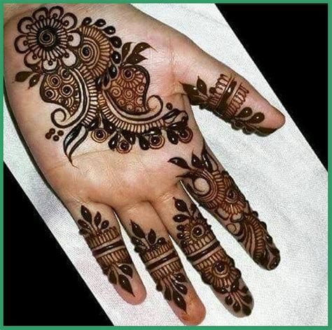 hand mehndi designs for front and back eid ul fiter mehndi design for hands front and back
