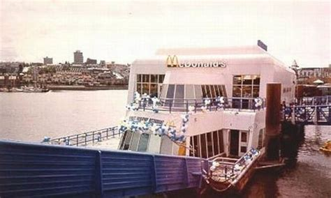 Kitchen Design Expo A Floating Mcdonalds Was Created For The 86 World S Fair