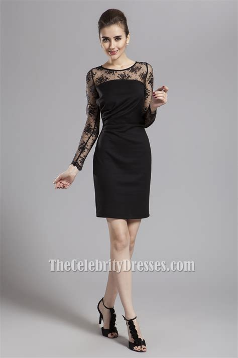 cocktail party attire discount black long sleeve cocktail party dresses