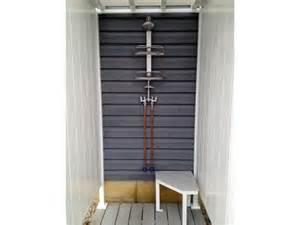 outdoor shower ideas single shower stall outdoorshowers net