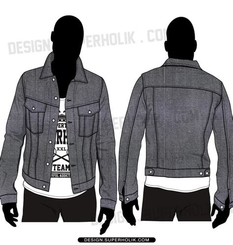 Jaket Sweater Hoodie Hoodie Form Is Temporary Home Cloth 1 fashion design templates vector illustrations and clip artsdenim jacket template vector