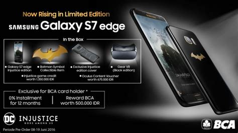 Harga Samsung Galaxy S7 Edge Injustice Edition Batman samsung galaxy s7 edge injustice edition ulteriori