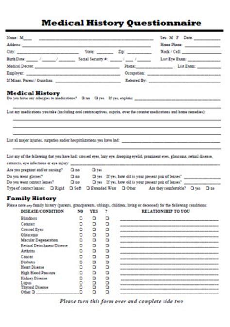 free patient registration form template