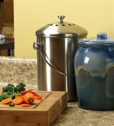 compost canister kitchen style kitchen compost container green kitchen compost container home furniture and decor