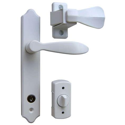 door deadbolt ideal security deluxe white door handle set with