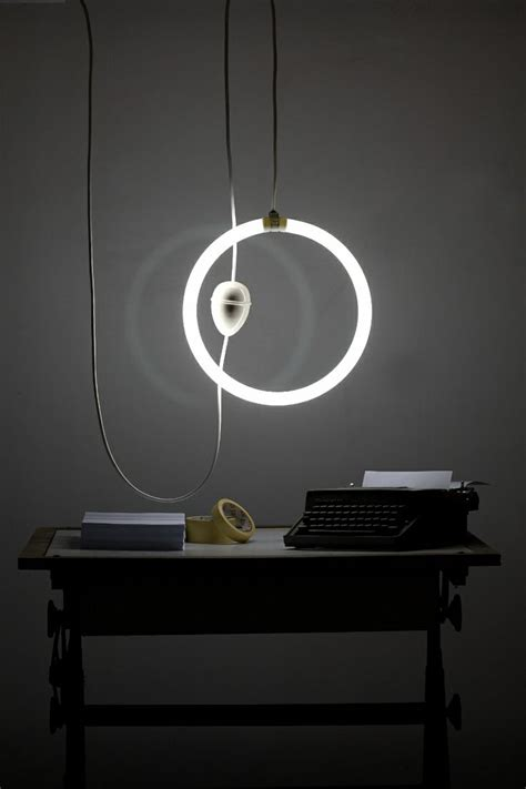contemporary modern ceiling pulley l iguazu neon