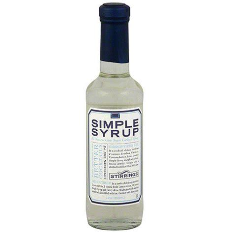 stirrings simple syrup 12 oz pack of 6 walmart com