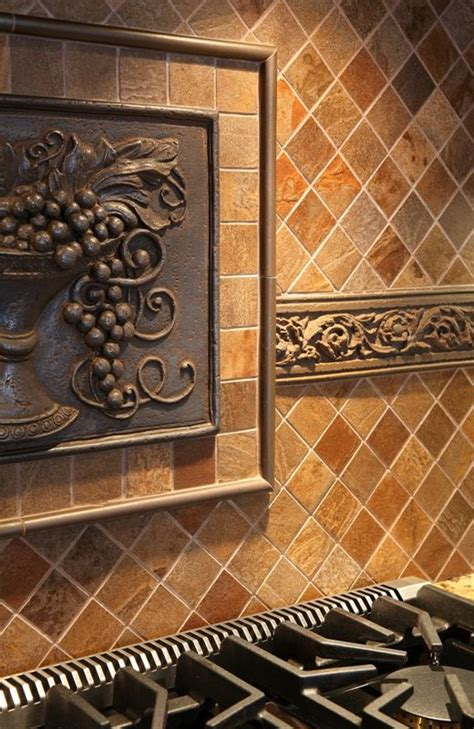 feature tile on cooktop backsplash backsplash ideas
