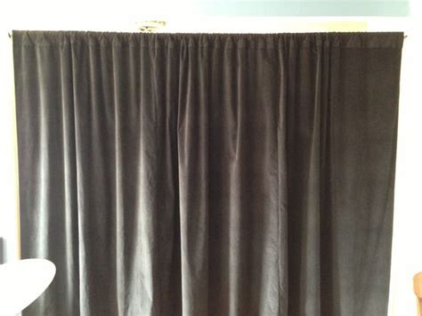 black velvet curtain black velvet curtain soundproofing room divider our