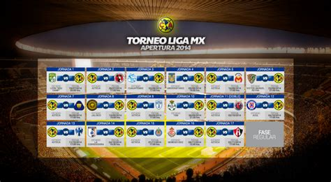 Club America Calendario 2015 Club Am 233 Rica On Quot Calendario 193 Guila Torneo