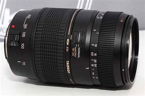 Lensa Tamron Tele Af70 300 lensa tamron 70 300 ld macro for canon new siap pakai