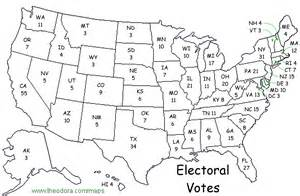 us map and electoral votes the gallery for gt electoral college 2016