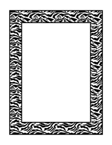 zebra printer templates for word zebra border