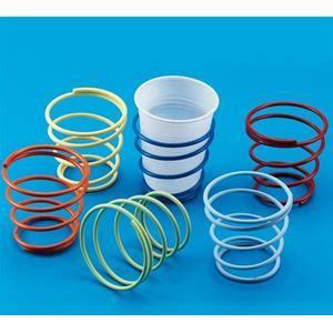 porta bicchieri di plastica prodotto 1330 porta bicchiere a molla kit 6pz no