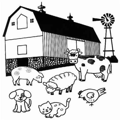 imagenes de animales de granja para imprimir a color laminas de granja para colorear
